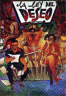 Cycle Pedro Almodovar: La ley del deseo