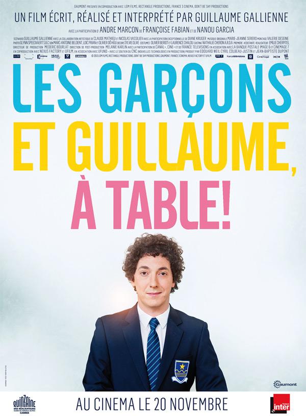 LES GARCONS ET GUILLAUME, A TABLE