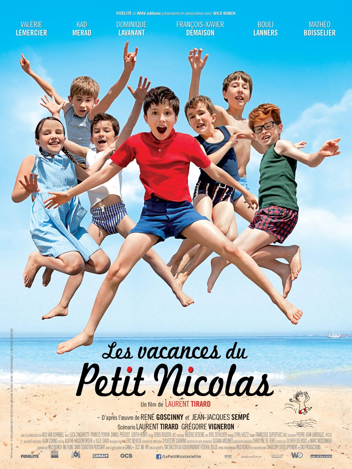 LES VACANCES DU PETIT NICOLAS ( French)