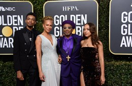 Spike Lee's Children, Satchel and Jackson, Named 2021 Golden Globe Ambassadors