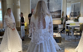 Sophie Turner's wedding dress took over 350 hours to design!