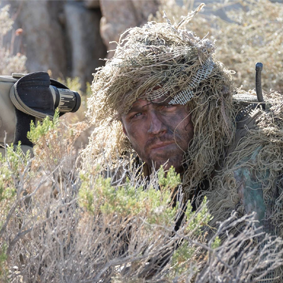 Former sniper among military advisers adding realism to 'The Wall'