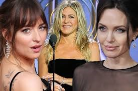 Dakota Johnson Talks Sparking Drama Between Jennifer Aniston And Angelina Jolie At The Golden Globes – Sorry, Not Sorry!