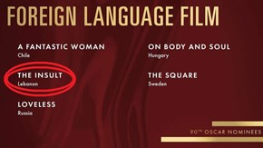Oscars: Lebanon Gets First Foreign-Language Nomination