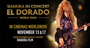 Shakira In Concert - EL DORADO world tour