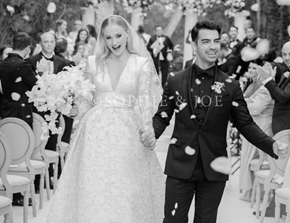 Sophie Turner and Joe Jonas Just Posted Wedding Photos on Instagram