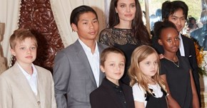 Angelina Jolie upset as she can't take children out of country