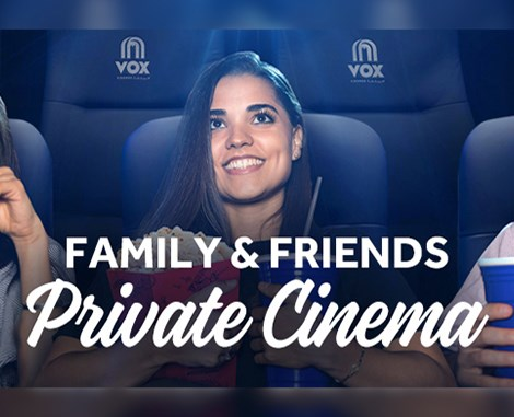Family and Friends Private Cinema