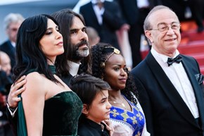 Lebanese filmmaker Nadine Labaki is up for the top award at Cannes
