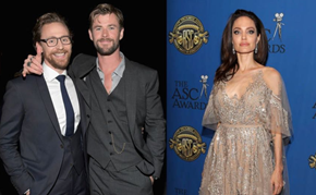 Angelina Jolie Dating Tom Hiddleston After Being Introduced By Chris Hemsworth?