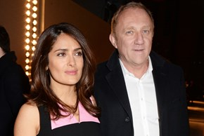 Salma Hayek's Husband Surprises Her With Vow Renewal On Island Getaway