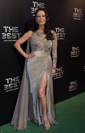 Make them green with envy in a Zuhair Murad gown like Catherine Zeta-Jones