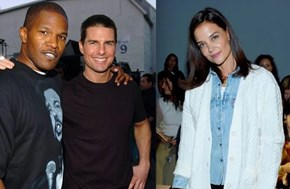 Tom Cruise, Jamie Foxx Mending Friendship After Katie Holmes Split?